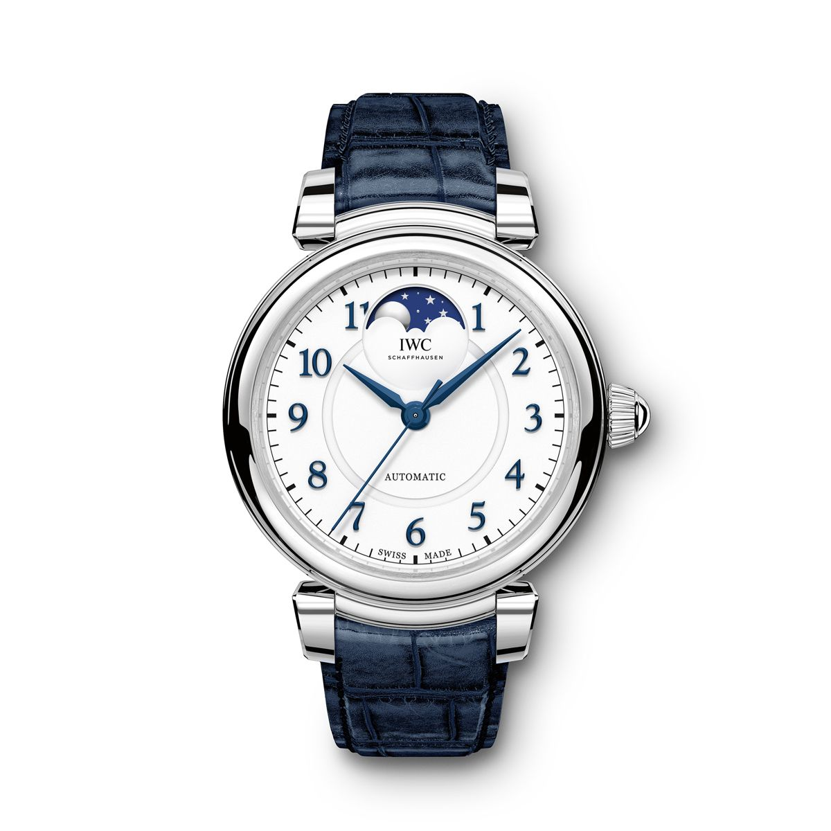 The excellent watches copy IWC Da Vinci 36 IW459306 are made from stainless steel.