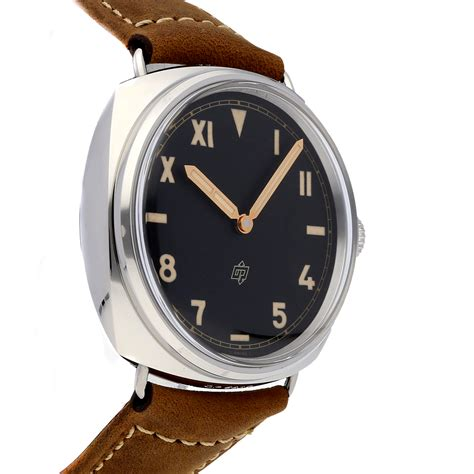 The durable fake Panerai Radiomir PAM00424 watches are made from stainless steel and brown calf leather straps.