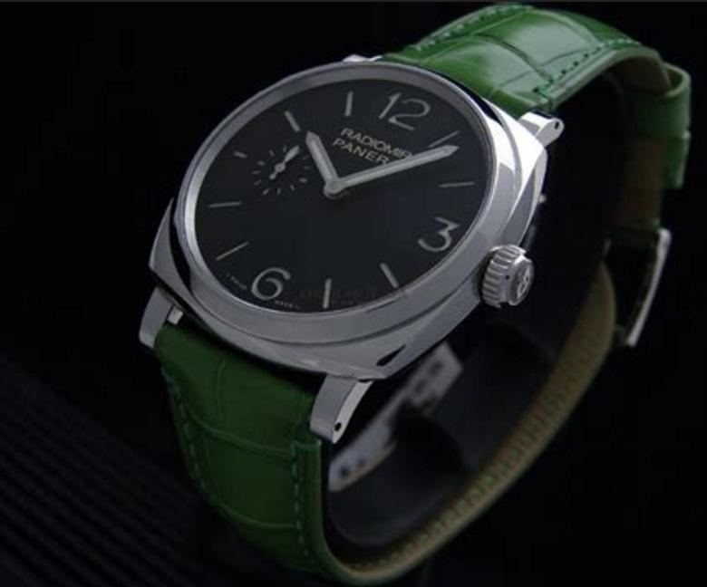 The sturdy replica Stainless Steel Replica Panerai Radiomir 1940 PAM00574 watches are made from stainless steel.