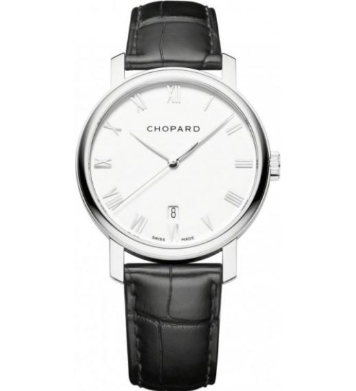 The excellent watches copy Chopard Classic 161278-1001 are made from 18k white gold.