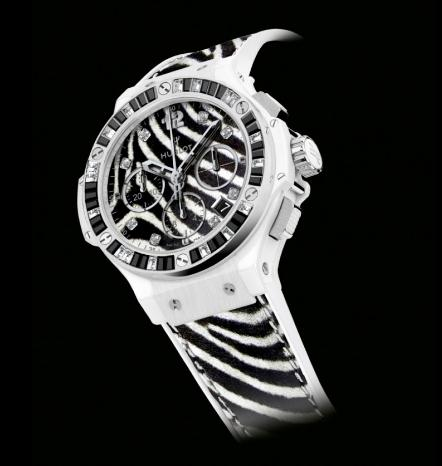 The 41 mm replica watches are made from white ceramic.