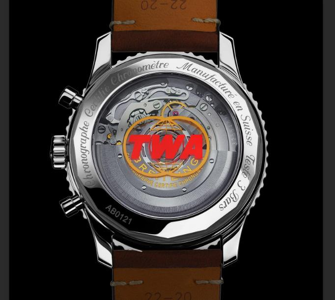 The reliable copy watches are equipped with caliber B01.